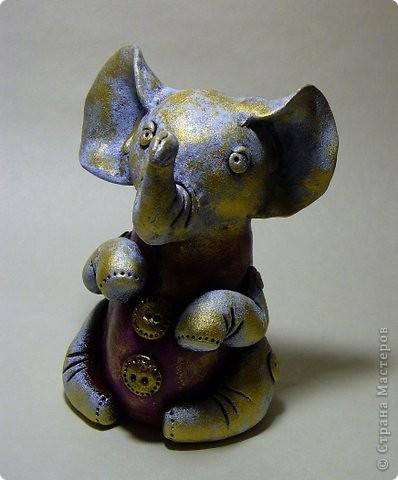 винтажный слоник. фото 1