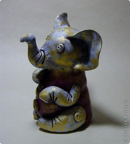 винтажный слоник. фото 2