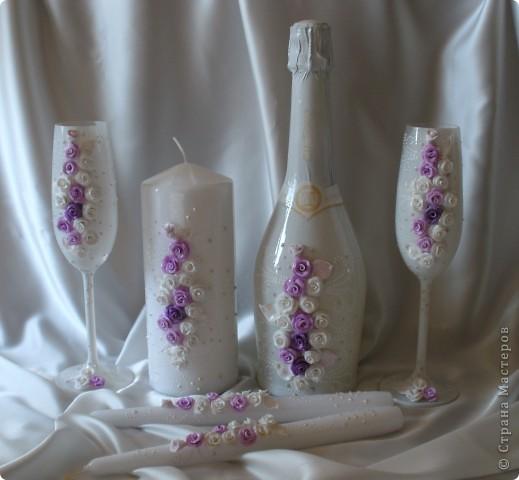 """Свадебный набор """"Феерия роз"""" фото 1"""