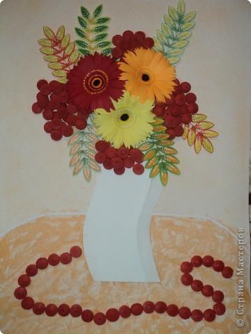 Большое спасибо Ольге Ольшак за ее творчество.Эта картина повторение ее работы, я бы сама до такого не додумалась. фото 7