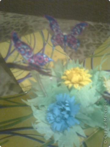 Вот и наша коробочка в подарок любимому учителю. Спасибо http://stranamasterov.ru/node/243667?c=favorite за идею. ) Мы её назвали :  шкатулка для хранения летнего настроении. Так на ярлычке и написали ) фото 5