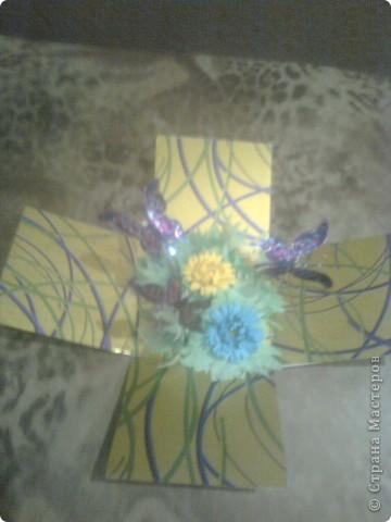 Поделка изделие День рождения День учителя Квиллинг Шкатулка в подарок Бумага фото 4.