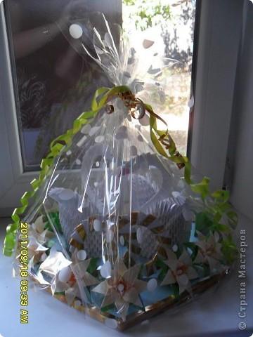 Прекрасный подарок на свадьбу - Два чудесных лебедя