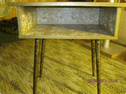 Обои шелкография, лежал остаток, решила обновить шкаф. фото 11
