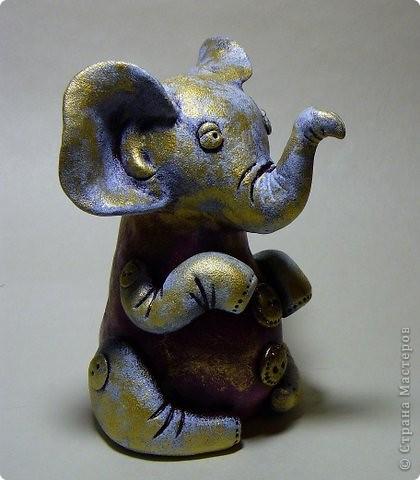 винтажный слоник. фото 3
