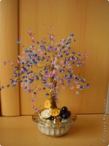 дерево из пайеток фото 2
