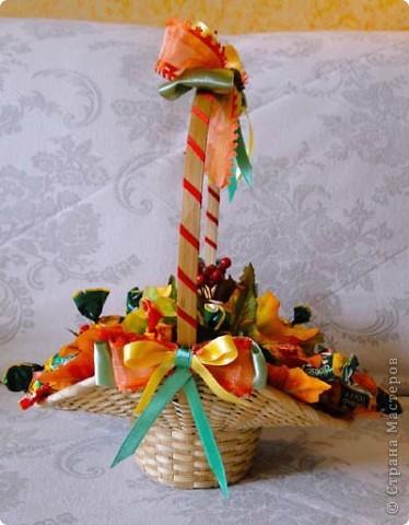 Вот-такая сладкая корзинка! (конфетки Каркунов) фото 16