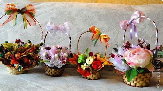 Вот-такая сладкая корзинка! (конфетки Каркунов) фото 24