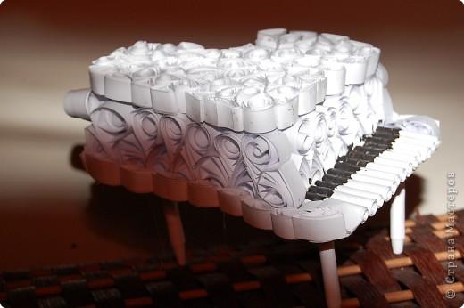 пианино(шкатулка)делала по етому МК http://stranamasterov.ru/node/236285 долго думала что сделать в подарок своей кумушке и  решила что шкатулка будет очень полезна фото 3