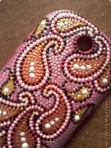 """Первой """"досталось"""" телефонной панельке ярко-розового цвета, которой я не пользовалась, т.к. не люблю этот цвет)  фото 2"""
