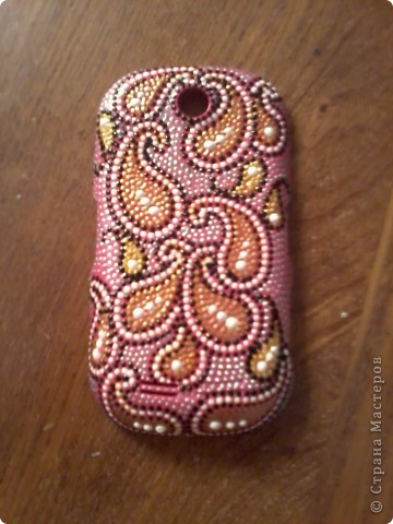 """Первой """"досталось"""" телефонной панельке ярко-розового цвета, которой я не пользовалась, т.к. не люблю этот цвет)  фото 1"""