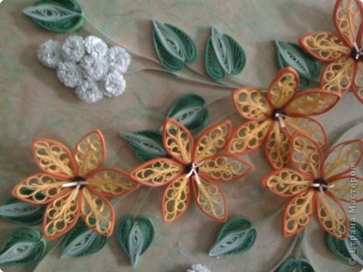 очень хотелось научиться делать такие цветочки. Пробовала.  фото 2