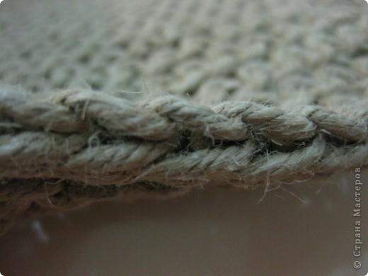вязаные подстилки из шпагата фото 4