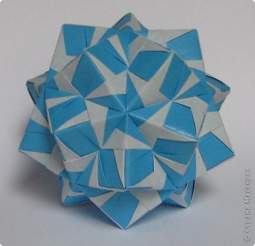 Привет!  Estrella MAPA by Ernesto Del Río Jiménez Схема: http://www.scribd.com/doc/51495049/Origami-Estrella-MAPA Марина (Марина5), спасибо что открыла нам такую красоту! фото 7