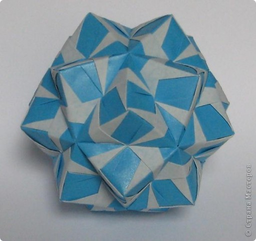 Привет!  Estrella MAPA by Ernesto Del Río Jiménez Схема: http://www.scribd.com/doc/51495049/Origami-Estrella-MAPA Марина (Марина5), спасибо что открыла нам такую красоту! фото 8