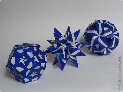Привет!  Estrella MAPA by Ernesto Del Río Jiménez Схема: http://www.scribd.com/doc/51495049/Origami-Estrella-MAPA Марина (Марина5), спасибо что открыла нам такую красоту! фото 3