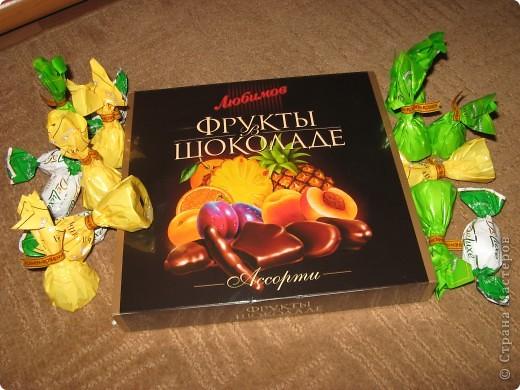 Вот такой букет из конфет получился в подарок Любоньке на День Веры, Надежды, Любви :) фото 4