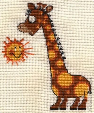 Жираф и солнышко)