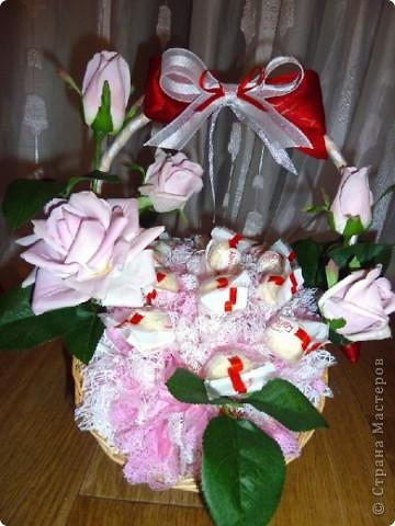 Вот-такая сладкая корзинка! (конфетки Каркунов) фото 19