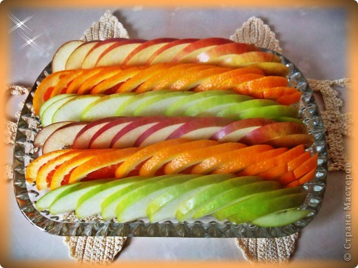 Вот так можно оформить фрукты на праздничный стол! фото 1