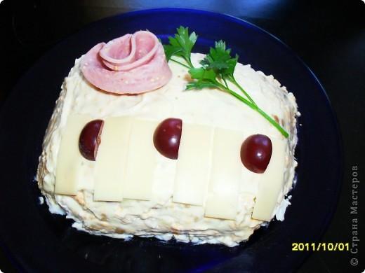 "салат "" Рояль"" фото 1"
