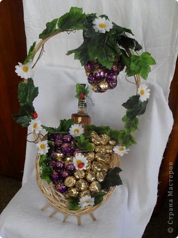 Виноградная корзина фото 1