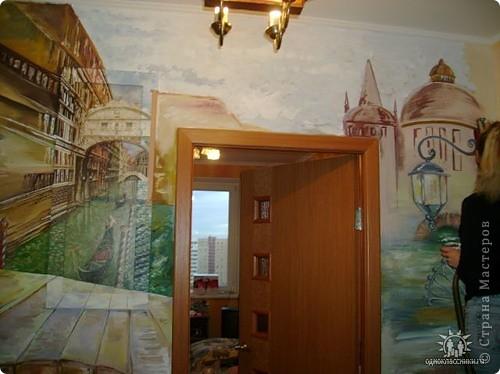 Венеция. Роспись коридора фото 1