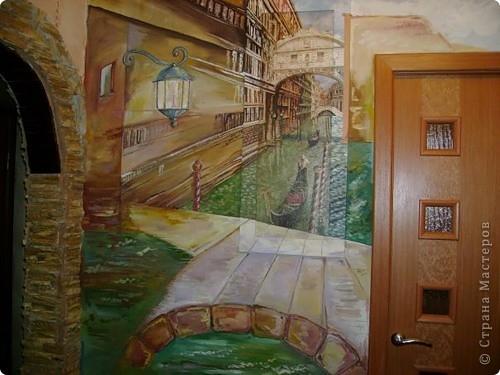 Венеция. Роспись коридора фото 2