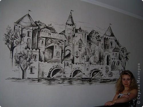Венеция. Роспись коридора фото 6