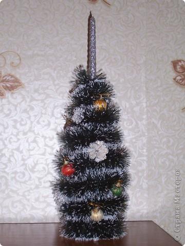 Венок на Рождество. Ветки кедра натуральные. фото 2