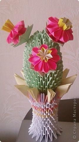 бумажные цветы. фото 1