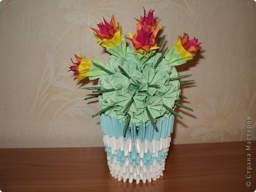 бумажные цветы. фото 2