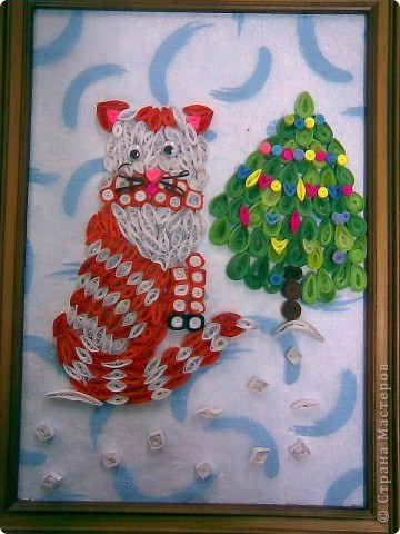 Эту работу на конкурс сделала Оксана и её мама, Татьяна  Александровна.