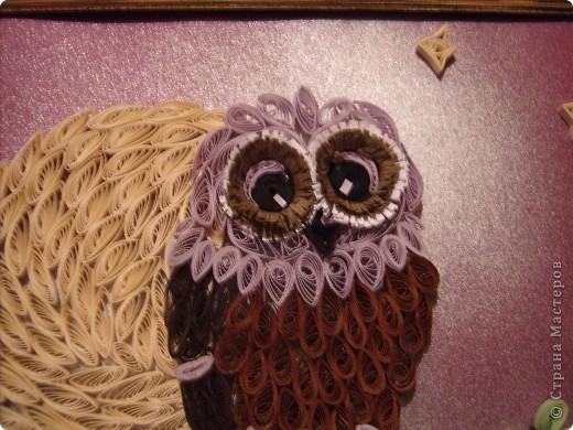 Очень мне нравятся совы. У них такие глаза....!!! Нет, даже не так. У них такие ГЛАЗА!!! Вот теперь правильно.  Очень мне захотелось иметь свою совушку. И вот она перед вами. фото 3