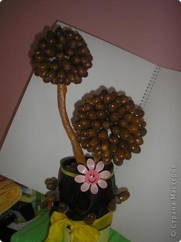 Праздник Осени! Вот такое деревцо у меня получилось! Насмотрелась талантов здесь в СМ и себе захотелось такого чуда!  фото 2