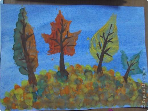 отпечатки листьев фото 1