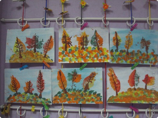 отпечатки листьев фото 2