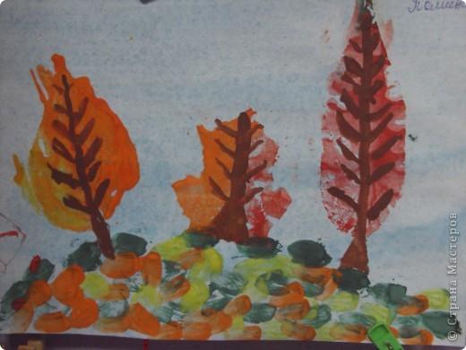 отпечатки листьев фото 4