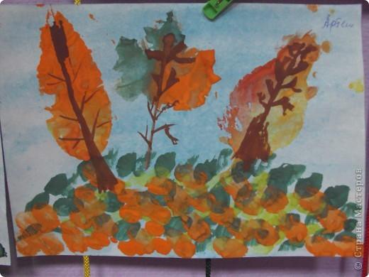 отпечатки листьев фото 3