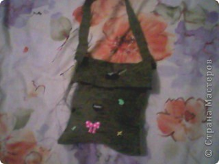 Сегодня я пошила сумочку из ткани фото 3