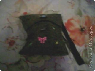 Сегодня я пошила сумочку из ткани фото 2