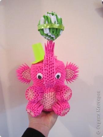 мои работы из модульного оригами фото 2