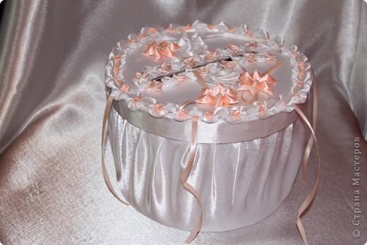 Свадебная казна в виде торта фото 1