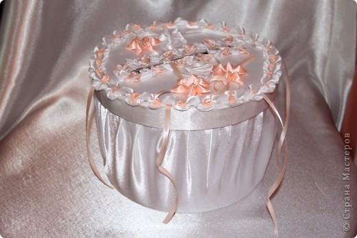 Свадебная казна в виде торта фото 2