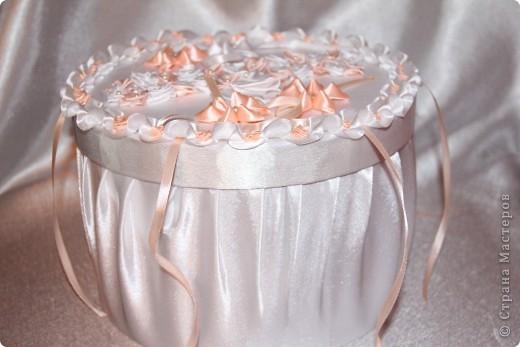 Свадебная казна в виде торта фото 3