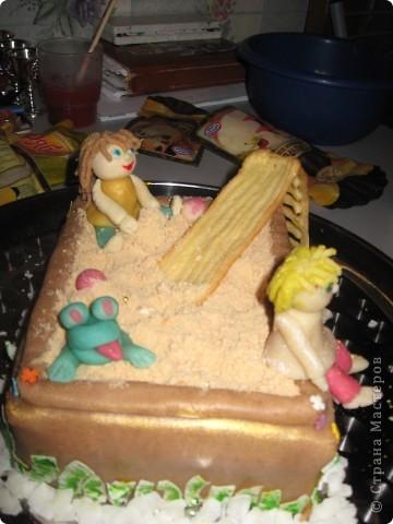 """торт """"песочница"""" фото 2"""