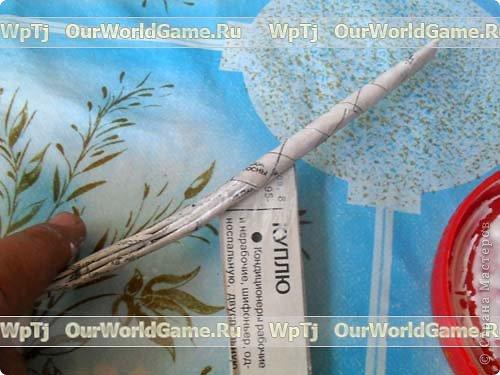 Мастер-класс Плетение Мастер-класс ажурная корзинка из газетных трубочек Бумага газетная фото 4