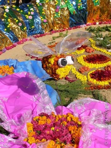 В сентябре у нас был день города. И, как обычно, состоялась выставка цветов. Вот какую красоту я там видела. Хочу с Вами поделиться))) Это Цветочная лошадка! фото 22