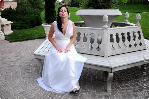 Платье в греческом стиле фото 5