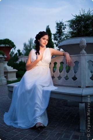 Платье в греческом стиле фото 9